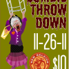 Zombie Throwdown At The Playhouse Saturday
