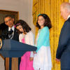 Arcata Third Graders Introduce President Obama At White House