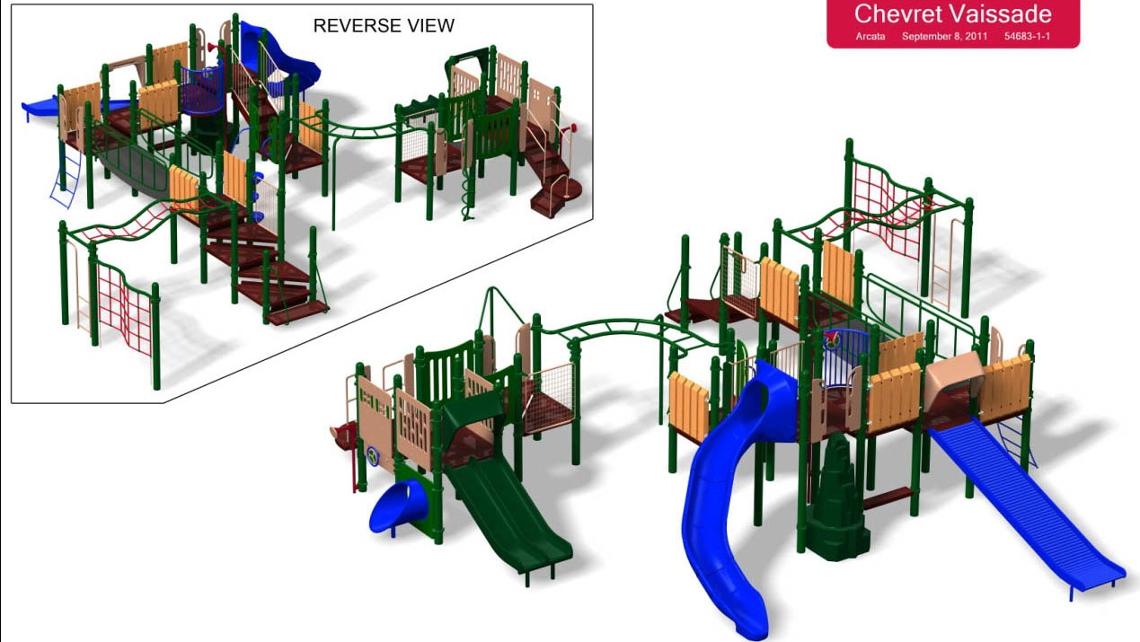 Arson Suspects Arrested  New Playset Ordered  Updated