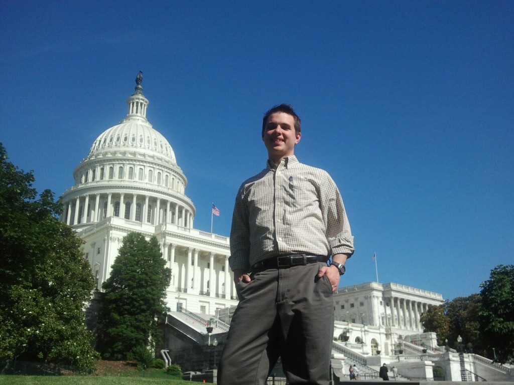 City Councilmember Shane Brinton in Washington, D.C.