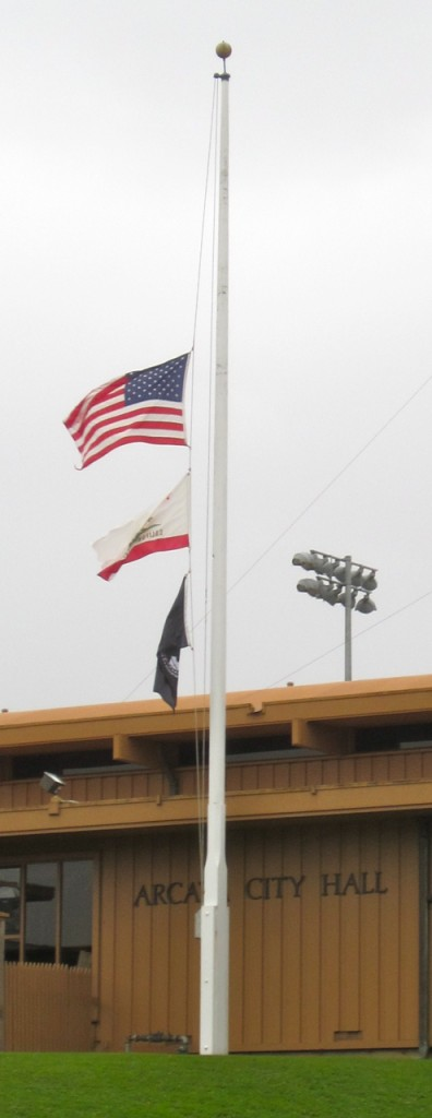Flags Half-Staff