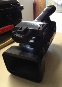 One of the stolen KIEM news cameras. HCSO photos