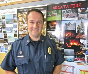 Interim Fire Chief Justin McDonald. KLH | Eye