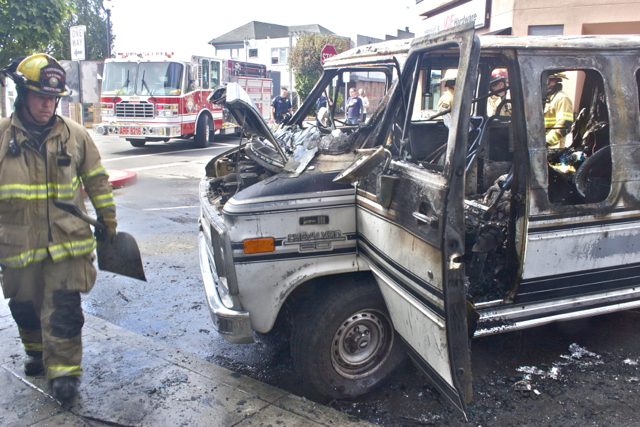 Vansplosion May Have Been Rolling Hash Lab | The Arcata Eye