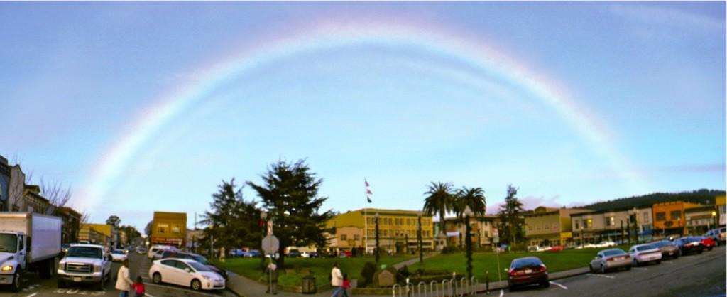 Plaza rainbow 1