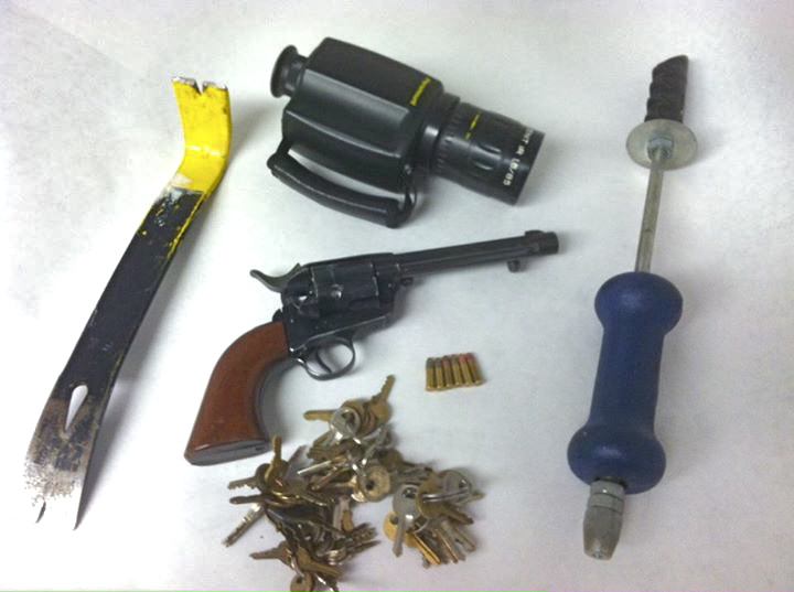 Armed Man At Marsh Arrested May Be Pernicious Window Bash