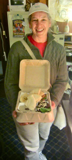 Leira delivered an amazing lunch to the Arcata Eye office one day. KLH | Eye