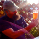 Area Man Quaffs Frosty Brew In Sunny Brae