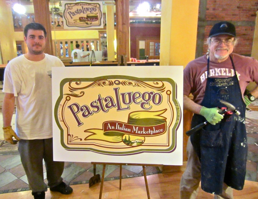 Mario and Jay Brown de-Bon Boniere-ize jacoby's Storehouse to make way for PastaLuego. KLH | Eye