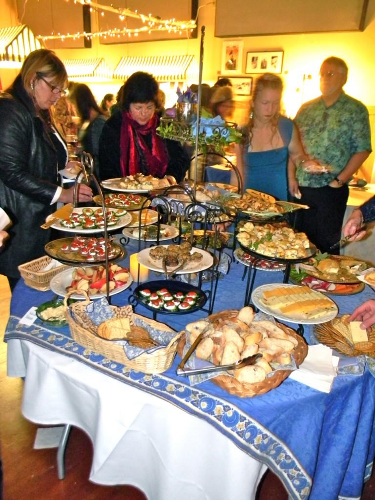 Bounty at the NPA Elegant French Dinner.