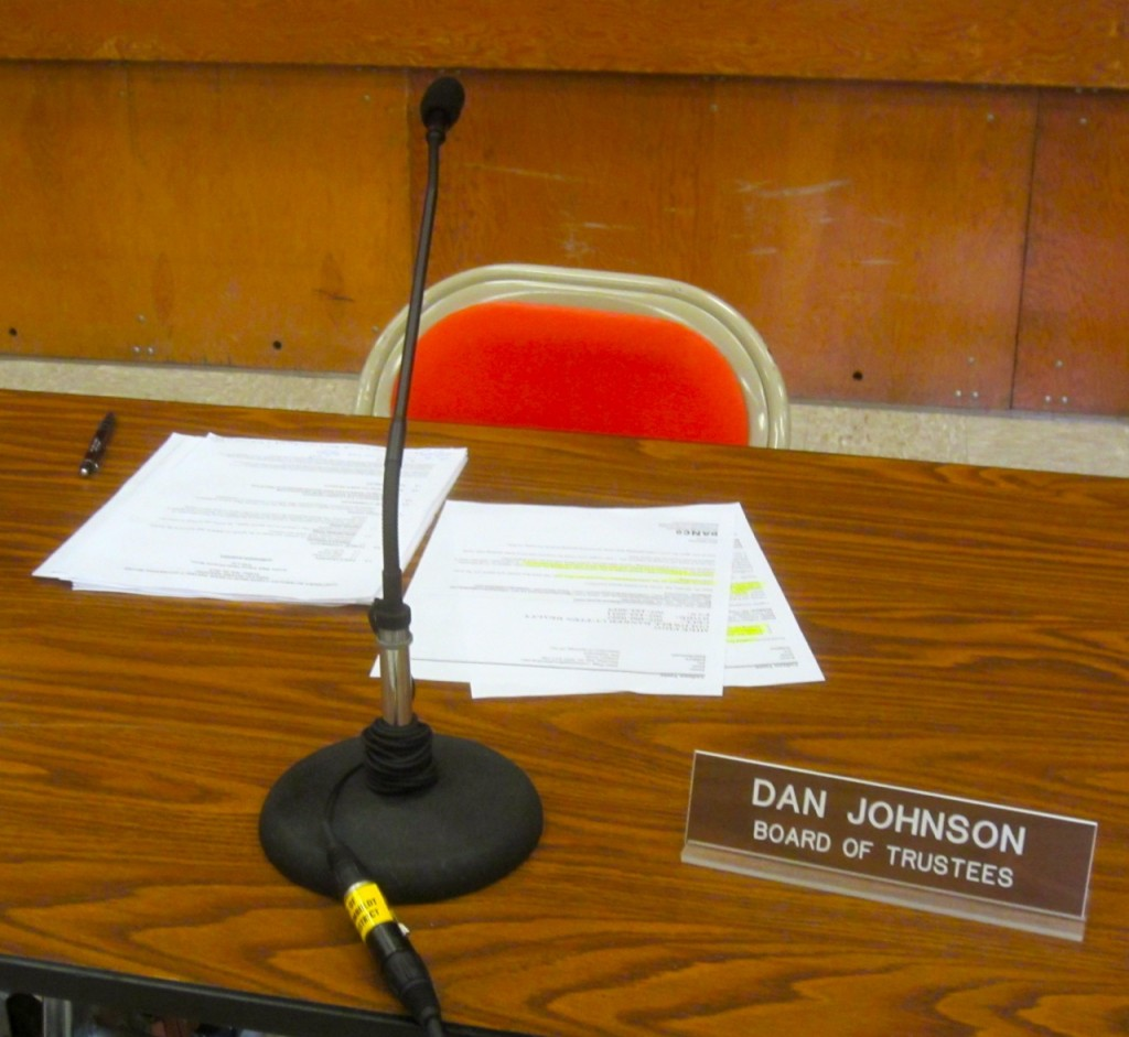 Stepping up to the plate and taking responsibility, Dan Johnson-style. KLH | Eye